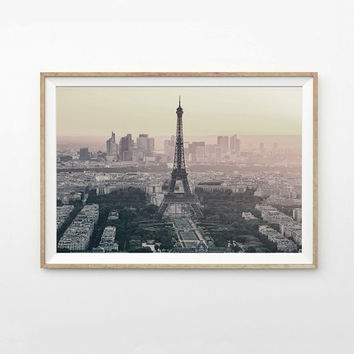 Paris - Eiffel Tower - Printable Photography - Photography - Landscape - France - Printable Artwork - Modern Decoration - Wall Art Decor