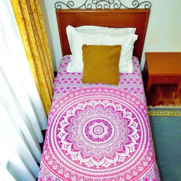 CHRISTMAS GIFT MANDALA Hippy Yoga meditation Mandala Tapestry Wall Hanging Throw Cotton Queen Bedspread Beach Spread Bed Picnic Spread