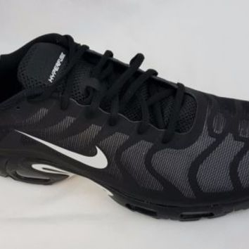 Nike Air Max Plus Hyperfuse Tn Tuned 1 Mens Black Trainers Size 12.5 483553 020