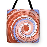 "Hurricane Sienna Tote Bag for Sale by Shawna Rowe - 18"" x 18"""