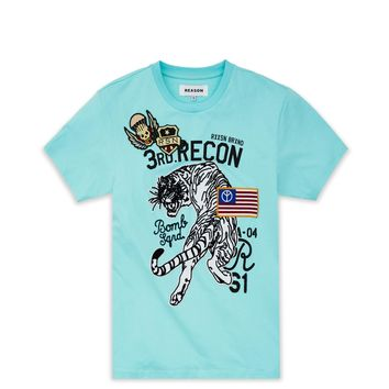 BATTALLION TEE - TEAL