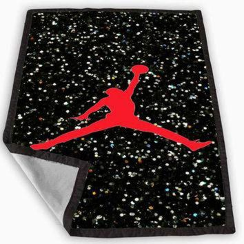 DCCKHD9 Nike Air Jordan Logo Blanket for Kids Blanket, Fleece Blanket Cute and Awesome Blanket