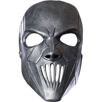 Slipknot Men's Mick Mask Slipknot Mask Metallic