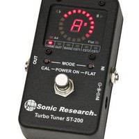 Turbo Tuner ST-200 Strobe Tuner Stomp Box