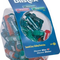 Blistex Lip Balm Tube/Bowl Counter Display - 15 oz. Case Pack 72