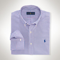 SLIM-FIT TATTERSALL SHIRT