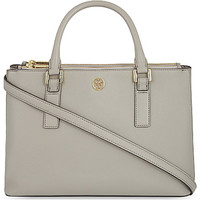TORY BURCH - Robinson mini leather tote | Selfridges.com