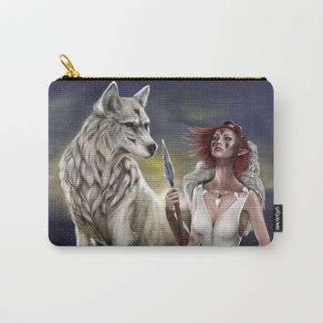 Princess Mononoke Carry-All Pouch by PaintedSoul