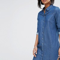 Vero Moda Denim Dress at asos.com