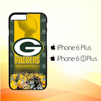 green bay packers W4896 iPhone 6 Plus|6S Plus Case