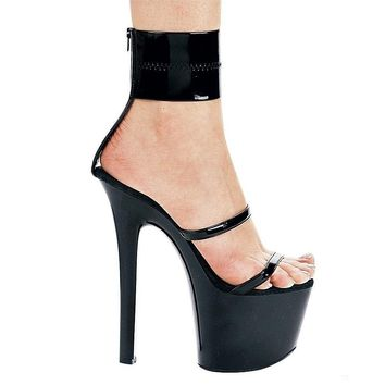 Ellie Shoes E-711-Sibyl 7 Heel Sandal