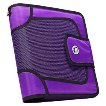 "Case•it 2"" Binder with Tabbed Closer, 8.5"" x 11"""