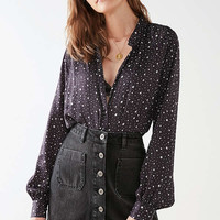 UO Fiona Button-Down Top | Urban Outfitters