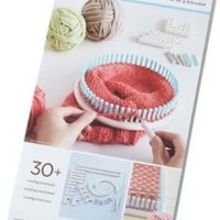 Lion Brand Yarn Martha Stewart Crafts Knit and Weave Loom Kit