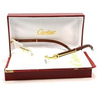 ONETOW Tagre? Cartier Women Popular Shades Eyeglasses Glasses