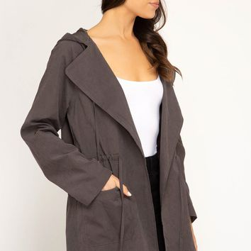 Hooded Jacket in Multiple Colors