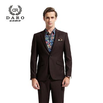 DARO Men Classic Suits 2018 Blazer Suit Casual Jacket Slim Fit Custom Tailor Clothing DR8158