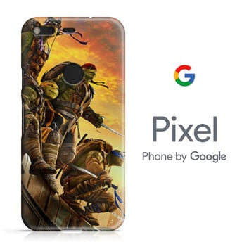 Ninja Turtle Poster Film Google Pixel Phone 3D Case