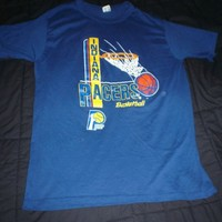 Vintage 1980s Indiana Pacers basketball t-shirt Champion 50/50 large