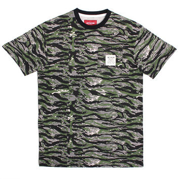 Battle Tested Pocket T-Shirt Tiger Camo