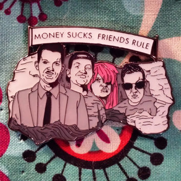 Dillon Francis Money Sucks Friends Rule (Mt. Dillmore) Hatpin