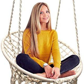 Macrame Swing Hammock Chair