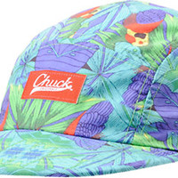 Chuck Originals Paradise Turquoise Camper 5 Panel Hat at Zumiez : PDP