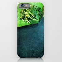 The Frog Prince iPhone & iPod Case by Shawn King
