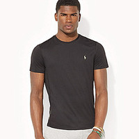 Polo Ralph Lauren Performance Jersey Crewneck Tee - Blue University