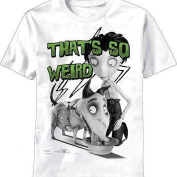 Frankenweenie That's So Weird Tim Burton New Licensed Adult T-Shirt S M L XL XXL