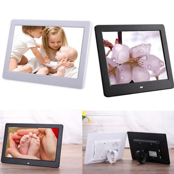 10.1 inch Electronic Digital Photo Frame Picture Porta Retrato Marco De Fotos Digital MP3 USB RJ45 Home Living Room Bedroom Wall