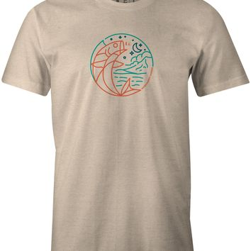 Moon Fish T-Shirt Sand