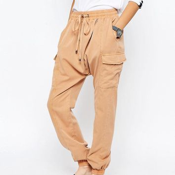 ASOS | ASOS Harem Washed Casual Pants at ASOS