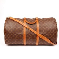 Louis Vuitton Keepall 60 Weekend/Travel Bag 5607 (Authentic Pre-owned)