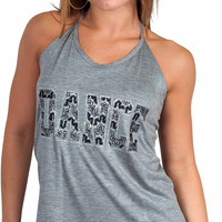 Funky Diva - Gray Dance Top