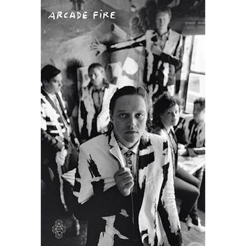 Arcade Fire Domestic Poster