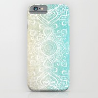 Beach Mandala iPhone & iPod Case by Jenndalyn