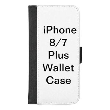 Customized Apple iPhone 8/7 Plus Wallet Case