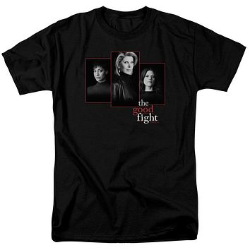 The Good Fight T-Shirt Cast Headshots Black Tee