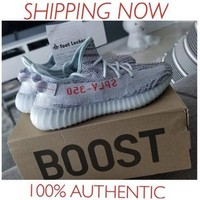 *Brand New* Adidas Yeezy Boost 350 V2 Blue Tint Size 10.5 100% Authentic Guarent