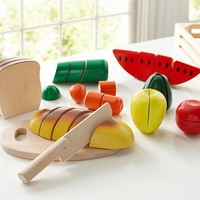 Wooden Food Set