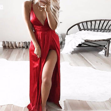 Catalina Maxi Gown