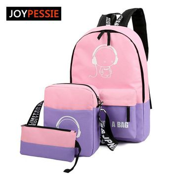School Backpacks for kids for college Nylon Book bag