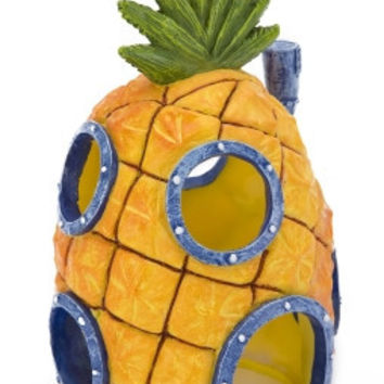 "Pineapple Hm W/Swim Thru Hole 7"" Spongebob Ornament"