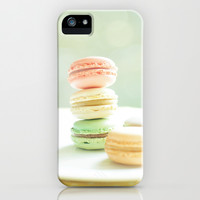 Hmmm Macarons iPhone & iPod Case by Happeemonkee