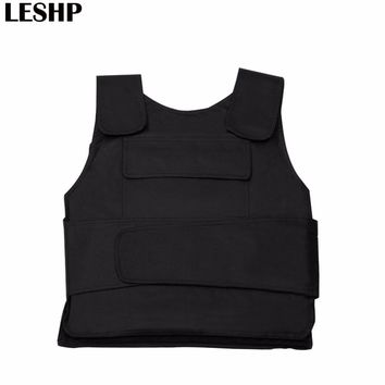 Tactical Vest Flexible Concealable Aramid Tactical Outdoor Protection Bulletproof Vest Covert Ballistic Vest Utility & Safety