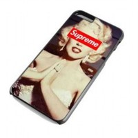 Marilyn Monroe Supreme for iphone 6 plus case