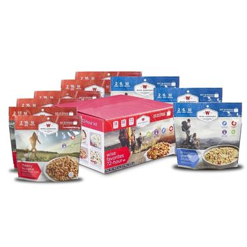 Wise Foods Favorites 72 Hour Cook-In-Pouch Meal Kit