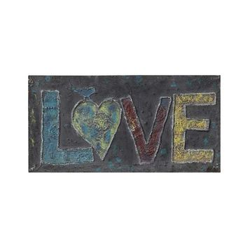 Love Birds Metal Wall Plaque - 2 Styles