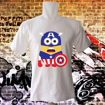 superhero-minion T Shirt - All Color Variable - All Size T Shirt - Cotton T Shirt